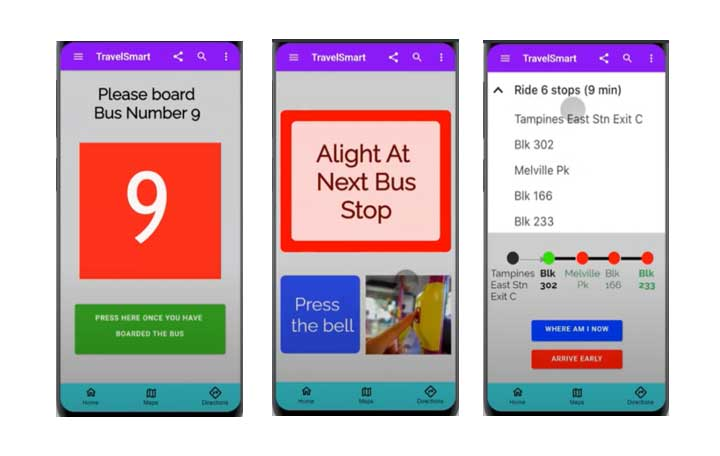 Smartphone App to Navigate Public Transport for Persons with Down Syndrome